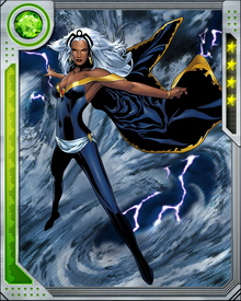 Capable of using her mutant power to manipulate weather patterns, Storm can summon wind, rain, sleet, snow, and even lightning at will. Storm splits her time as ruler of Wakanda and as part of the X-Men.