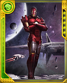 One of many features built into the Iron Man suit is the ability to travel in space. Tony realized early on that there would be times that fighting against the villainy of the world would not be enough. Sometimes villainous threats come from beyond Earth and the best way to combat those threats is to intercept them before they reach the planet.