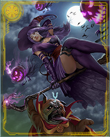 The Darkhold recreates the psychic ninja Psylocke as a powerful witch, with an equally powerful familiar: the Inhuman Lockjaw!