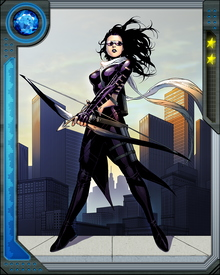 She has developed herself into a formidable unarmed fighter who can also use swords and her signature bow. Bishop also acts as the unofficial leader of the Young Avengers.