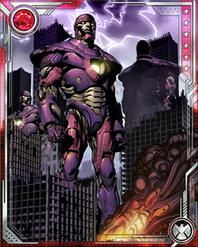 Perhaps the most sustained Sentinel threat came about as a result of Project Wideawake, a collaboration between the Hellfire Club and Dr. Henry Gyrich. They created a new line of Sentinels using some of Nimrod's technology, bringing about the Days of Future Past timeline.