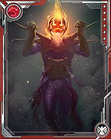 In the Ultimate universe, Dormammu is revealed to be a powerful demon released in the Ultimatum wave. He faces Doctor Strange, who had been under Nightmare's control, and somehow manages to kill the sorceror.