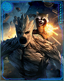 Mojo had an idea for a TV show starring Groot and Rocket Raccoon. The two of them became the stars of a show where they had to combat villains they had previously defeated. They became so popular that action figures were made of them, but the duo escaped from their reality TV show before Mojo was able to cash in on their popularity.