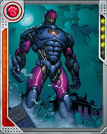 Created by scientist Bolivar Trask to identify and control mutants—and destroy them if need be—Sentinels became a powerful symbol of mutant fears that they would never be accepted by the broader population. They were equipped with limited sentience, sensors that could detect mutants at long distances, and a variety of weapons and restraint devices.
