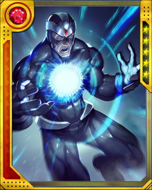 Havok's conduit of cosmic power was blocked by the Living Pharaoh, allowing the Pharaoh to recreate himself as the Living Monolith. Since then, Havok has had a special grudge toward the Pharaoh.