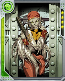 Hepzibah now resides on Earth, where she has allied herself with the X-Men because she has been unable to rejoin the Starjammers. Her powers include an incredibly acute sense of smell and the ability to emit mood-altering pheromones.