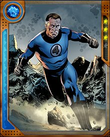 The ability to stretch and change the shape of one's body may not seem like a combat-effective power against someone with the strength to knock down buildings with a punch, but Mr. Fantastic has even used his abilities against foes with strength similar to that of his friend, Ben Grimm.