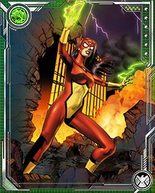 Norman Osborn returned as the head of a new villainous group H.A.M.M.E.R. during the Siege of Asgard. After the defeat of Osborn, Spider-Woman became a member of the Avengers.