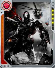 "Tony Stark designed the Variable Threat Response Battle Suit (nicknamed ""War Machine""), a more heavily armed version of the Iron Man armor designed for all-out warfare for his friend Colonel James 'Rhodey' Rhodes."