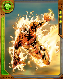 Johnny Storm dubbed himself the Human Torch as a tribute to the World War II-era hero of the same name.