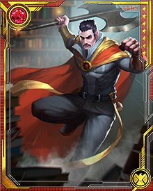The dust has settled on Battleworld, and Stephen Strange returns with... an axe? There's nothing about that in the Book of the Vishanti. Is he still Sorcerer Supreme... and what does that title mean now?