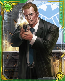 Phil Coulson is once again alongside his friend Marcus as a member of S.H.I.E.L.D.'s own version of the Avengers—the Secret Avengers—and was even responsible for the recruitment of the team's first members.