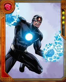A Mutant hero gifted with the ability to absorb ambient cosmic energy into the cells of his body Havok processes the energy into a blast of plasma.