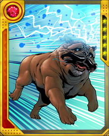 The Pet Avengers include Lockjaw, Lockheed, Zabu, Redwing, Hairball, Throg, Ms. Lion... and First Dog Bo Obama. Together they have retrieved the Infinity Gems and fought Thanos... something most humans (and Inhumans, even) cannot say.