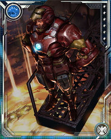 During the Fear Itself storyline, Iron Man challenged Odin to give humanity a fighting chance against the Serpent. Odin agreed, permitting Iron Man access to Asgard's forges. There, Iron Man and Asgardian dwarves created new weapons of the magical metal uru.