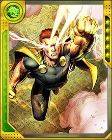 In our universe, Hyperion is a member of the Avengers.