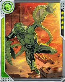 Freed from the Raft and wearing a new powered suit, the Scorpion accepted a commission from Alistair Smythe to kill Spider-Man. This put him squarely in the middle of the events following Otto Octavius' implantation of his own mind in Peter Parker's body. Scorpion also found time to continue his vendetta against J. Jonah Jameson.