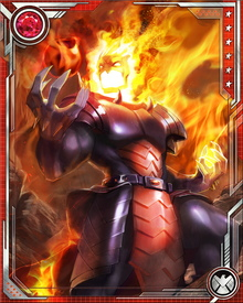Dormammu has taken up residence in the Dark Dimension. A supremely powerful Demonic entity, he has enslaved and imprisoned the virtually unstoppable Mindless Ones. He unleashes them as a horde when he must extend his will and power.