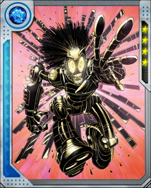Warlock has been allied with the New Mutants because he too is a mutant. This may be the source of his compassion, which is uncommon among members of the Technarchy. The techno-organic virus can infect either machines or life forms, and creates a hybrid form of both. Warlock's physical construction also allows him to change his shape.