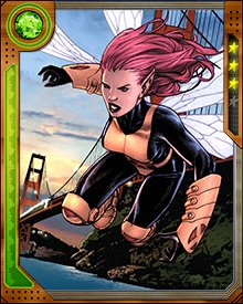 Pixie helped fight the Purifiers by transporting the New X-Men to the Purifiers' base. When confronted by Deathstrike, she panicked and used a blind teleport, scattering the New X-Men across the country. Her teleportation powers were stretched to their breaking point.
