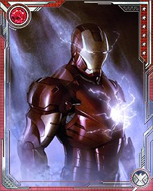 Thinking he had hit a technological ceiling, and the limits of his own ability to innovate, Iron Man accepted the Guardians of the Galaxy's invitation to join them in space. His adventures there showed him some incredible new technology and gave him new insights into how to advance his own initiatives. The suit designed for deep-space work had a built in artificial intelligence named P.E.P.P.E.R..