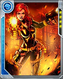As time runs out for Earth, and the Illuminati are wanted for the destruction of alternate realities, Natasha joins S.H.I.E.L.D.'s Avengers. She tracks Tony Stark to his hideout, but leaves him imprisoned when he refuses to acknowledge the enormity of his actions.