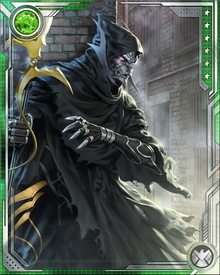 The mouthpiece and leader of the Cull Obsidian, or Black Order, Corvus Glaive is the most loyal of Thanos' lieutenants. He betrayed his own people to achieve his position with Thanos, and is as amoral and cruel as he is witty.