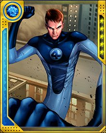 During the super hero Civil War, Mr. Fantastic took the pro-registration position, which put him in conflict with some of his oldest allies and even other members of the Fantastic Four.