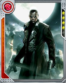 Blade has faced all kinds of vampiric beings. A vampire named Deacon Frost once tried to raise an undead army in New Orleans, but Blade defeated him with the help of Brother Voodoo. Frost had murdered Blade's mother, making him responsible for Blade's condition, so this was personal.