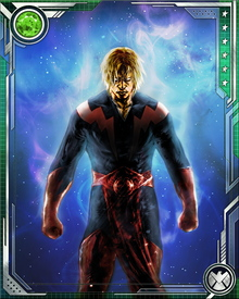 Before realizing his destiny as the cosmic warrior and member of the Guardians of the Galaxy, Adam Warlock journeyed to Earth from the Enclave's Beehive and there he fell in love with Sif. This led to a showdown with Thor before Adam Warlock, then known only as Him, withdrew into space again.
