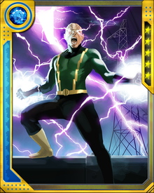 With his powers as Electro enhanced due to an experimental procedure, Max Dillon currently has the ability to overcome his previous weakness to water. Dillon can now utilize electromagnetic fields around him and vaporize water before it ever touches his person.