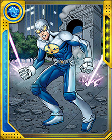 While Gravity is a relatively young and inexperienced hero, he has squared off against some of the most fearsome of foes. He has faced villains such as Black Death, Rhino, and even Galactus!