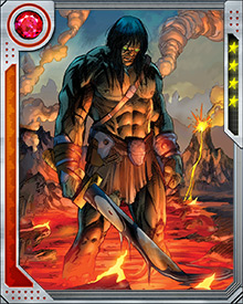 With the Sakaar refugees in the Savage Land, Skaar becomes involved in protecting that fragile place.