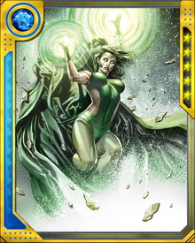 During the destruction of the mutant nation Genosha by Sentinels, Polaris was believed killed. Later she was discovered in the ruins, driven nearly mad by the magnetized ghosts of the dead mutants around her.