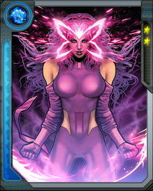 Psylocke once lost her telepathic abilities and gained telekinetic powers instead. These powers continued to grow and evolve further when her telepathic powers were restored.