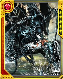 Venom is enough of a threat all by itself, but it's not averse to teaming up with other bad guys, such as the Dark Avengers. It has also been used, strangely enough, by heroes such as Spider-Man. Notably, Venom has battled other symbiotes—in particular Carnage, who hates Venom for being the first symbiote.