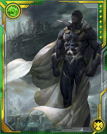 The Inhumans knew well the danger the Skrulls presented, and when the Secret Invasion was revealed, Black Bolt rallied to help. But he was captured and held by the Skrulls, who intended to force him to use his voice as a weapon for them.