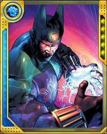 The only being who could take the Ka Stone from Sphinx turned out to be Galactus—and even he had a little trouble. He destroyed the stone and sent Sphinx to another timeline where he thought Sphinx did not already exist. This turned out to be wrong, and brought the two Sphinxes into conflict.