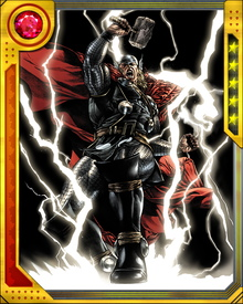 The Odin Force (or rather Thor Force) enables him to tap into the practically infinite resources of cosmic and mystical energies of the dimension Asgard exists within, enhancing all of his abilities in turn.