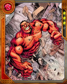 Recently Red Hulk has led a new team of Thunderbolts, dedicated to cleaning up loose ends left by missions undertaken by Thunderbolt Ross. Red Hulk hasn't found peace with his new existence, but he's nothing if not determined, and when he doesn't let his rage get the better of him, he can be a capable leader.