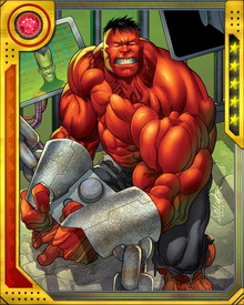 General Thunderbolt Ross was remade into the Red Hulk by MODOK, partly as an experiment and partly because MODOK knew it would drive Ross insane to be so much like the thing he hated most: the Hulk.