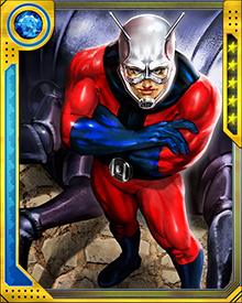 Hank Pym handed off the Ant-Man identity to Scott Lang after Lang stole the Ant-Man costume and used it to save his daughter. As the new Ant-Man, he gradually earned the trust of the Avengers and other allied superhero groups, and he was selected to be Reed Richards' potential replacement should anything befall the Fantastic Four.