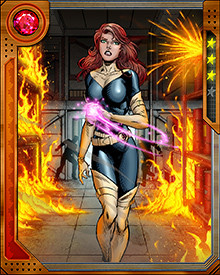 "Even though Jean Grey is dead in the modern era, a younger version of Jean Grey is currently alive and well in our timeline. Years ago, while just getting started as Charles Xavier's students, the X-Men were convinced to time travel to the modern world to ""talk some sense"" into Cyclops. Jean Grey was among those young heroes. She, along with the rest of the X-Men, have decided to stay in the modern timeline rather than return home."