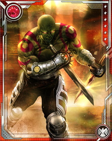 The Eternals created Drax anew with the express purpose of having him be their instrument for the destruction of Thanos. Some of his powers are specifically keyed to this imperative: for example, he can sense when someone has recently been in contact with Thanos, or soon will be.