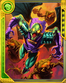 Annihilus started life from a Tyannan race planted bio-spore on an alien planet. From a weak insectoid creature, he showed an incredible will to live. He leveraged Tyannan technology and he found out how to augment his intelligence and power.