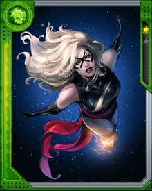 Former CIA Agent, U.S. Air Force officer, and fighter pilot, Carol Danvers, was exposed to extraterrestrial radiation from the race known as the Kree, becoming the hero Ms. Marvel.