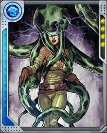 Unlike many villains who tend to get stuck in a rut and battle the same heroes year after year, Madame Hydra has always had a new crazy plan that she is working towards. The variety of these plans has caused her to cross paths with a variety of heroes as they thwart her advances.