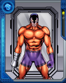 Ulysses Klaw is an amoral scientist who is determined to stop at nothing to power up a sound weapon of his own invention. He killed Black Panther's father T'Chaka and has been T'Challa's mortal enemy since.