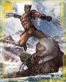 You might know Wolverine's about to spring. You might see it coming, and see his arm cocked back to deliver a killing blow. But it won't matter what you see, because it'll happen too fast for you to do anything about it.