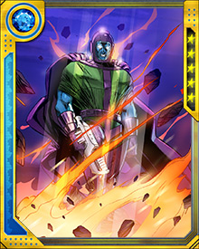 Kang's time-traveling has disrupted a number of timelines, and resulted in different versions of himself acquiring their own lives in different histories. Lacking superpowers of his own, he relies on his mastery of 40th Century technologies for a combat advantage.